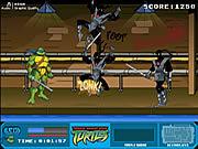 Permainan Teenage Mutant Ninja Turtles - Foot Clan Street Brawl