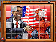 Play Sort my tiles obama and spiderman Game