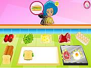 Breakfast Sandwich Shop game