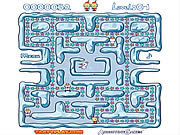 Snow Maze game