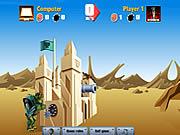 Castle Cannon game