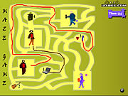 Maze Game - Game Play 10 game