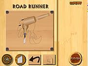 Play Wood carving road runner Game