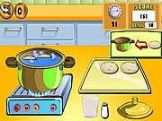 Play Cooking show breadrolls Game