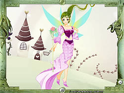 Forest Queen Dressup game