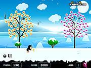 Penguin Ice Breaker game