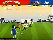 Little Zizou Sock-Err game