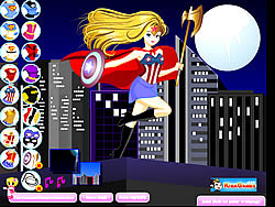Supergirl Dress-Up 2 game