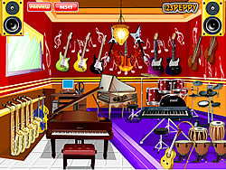 Play music room game online y8 com for Room decor y8