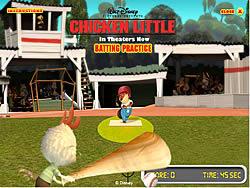 Chicken Little - Batting Practice game