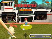 Play Chicken little batting practice Game