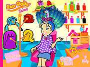Polly's Hair Stylin' Salon game
