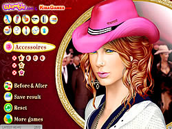Taylor Swift MakeOver game
