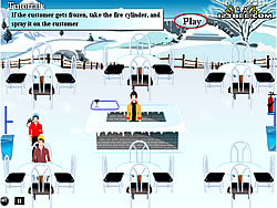 Winter Bar game