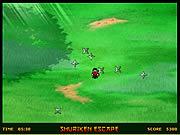 Shuriken Escape game