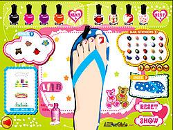 Sweet Feet Nail Polish game
