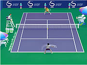 China Open Tennis game