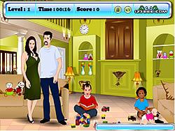 Angelina and Brad Kissing game