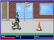 Scout Skateboarding game