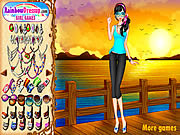 Sunset Chic Dressup game