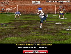 Overhead Kick Champion game