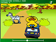 The Lion at the Car game