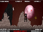 Moon Sweeper game