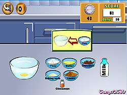 Cooking Show: Muffins game
