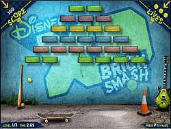 Brick Smash game