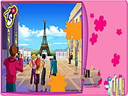 Play Totally spies puzzle eiffel tower Game