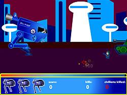 Blue Midget Walker game
