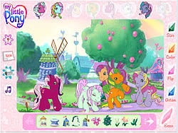 My Little Pony - Friendship Ball لعبة