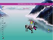 Reindeer Jumping game