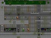 Flash Doom 2D game