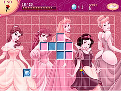 Disney Princess and Friends - Hidden Treasures game