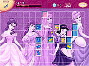 Play Disney princess and friends hidden treasures Game