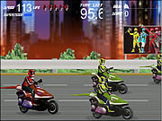 juego Power Rangers - Moto Race