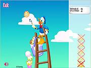 Scoops 'n Ladder game