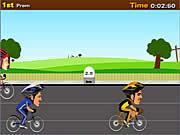 Cycle Racer game
