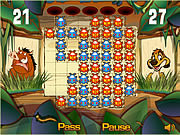 Timon and Pumbaa's Bug Trapper game