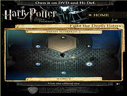 Harry Potter - Fight the Death Eaters game