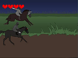 Knight vs Knight game