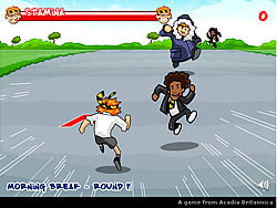 British Bulldog game