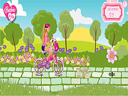 Barbie & Me Bike Game game