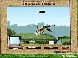 Ashes Clashes Backyard Classic Catch game