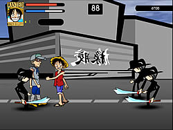 One Piece - Luffy vs CP9 game