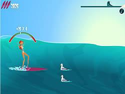 Surf or Sink game