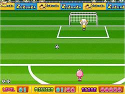 Girl Football game