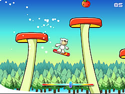 Polar Bear Snowboard game