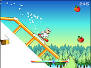 Play Polar bear snowboard Game